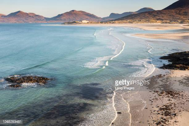 Seilebost beach on the Isle of Harris in the Outer Hebrides.