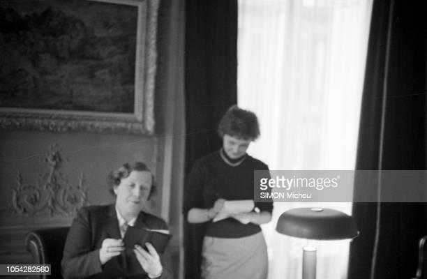 SeineetOise France mars 1954 Elections législatives partielles des 28 février et 14 mars 1954 en SeineetOise Germaine Peyroles 52 ans avocate mère de...