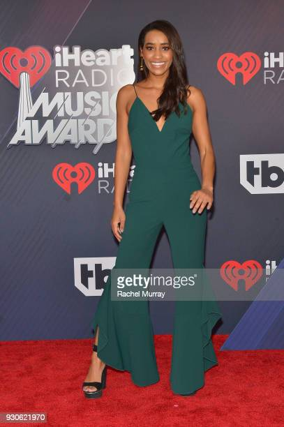Seinne Fleming arrives at the 2018 iHeartRadio Music Awards which broadcasted live on TBS TNT and truTV at The Forum on March 11 2018 in Inglewood...