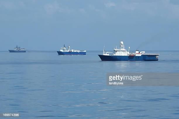 Inquérito sísmica navios