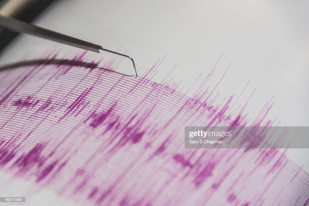 Seismometer : Stock Photo