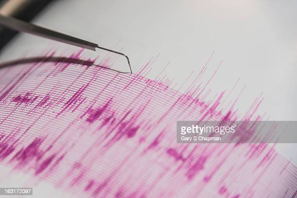 seismometer - earthquake stock pictures, royalty-free photos & images