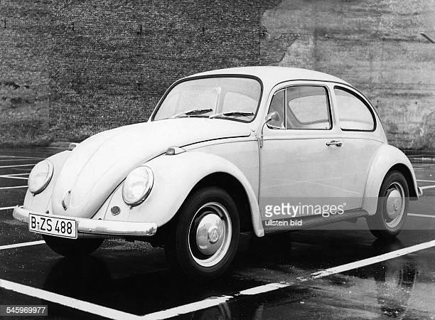 Seitenansicht eines VW Käfer 1 200 1967