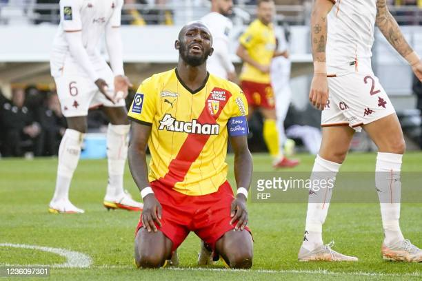 Seko FOFANA during the Ligue 1 Uber Eats match between Lens and Metz at Stade Bollaert-Delelis on October 24, 2021 in Lens, France.