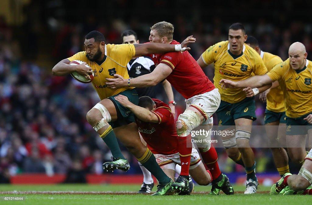 Wales v Australia - International Match : Nachrichtenfoto