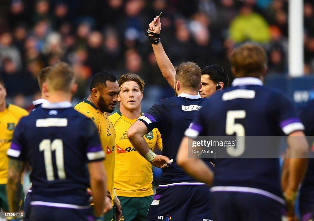 Scotland v Australia - International Match : News Photo