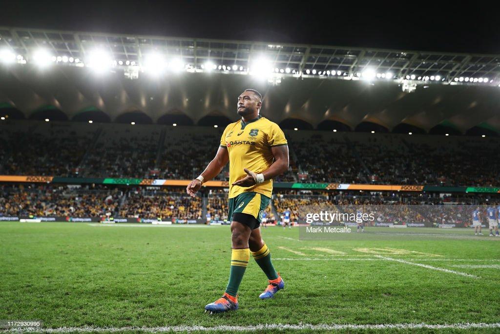 Australia v Manu Samoa : News Photo