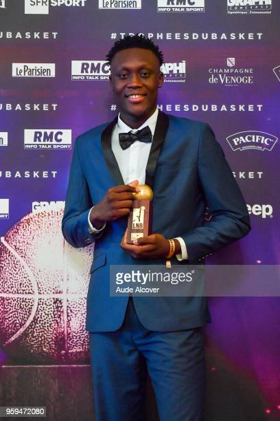 Sekou Doumbouya during the Trophy Award LNB Basketball at Salle Gaveau on May 16 2018 in Paris France
