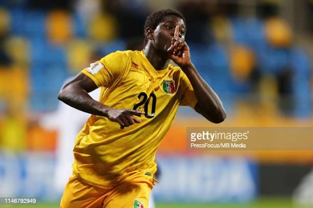 Sekou Koita of Mali celebrates scoring a goal during the FIFA U-20 World Cup match between Saudi Arabia and Mali on May 28, 2019 in Gdynia, Poland.
