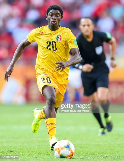 Sekou Koita of Mali in action during the FIFA U-20 World Cup match between Italy and Mali on June 7, 2019 in Tychy, Poland.