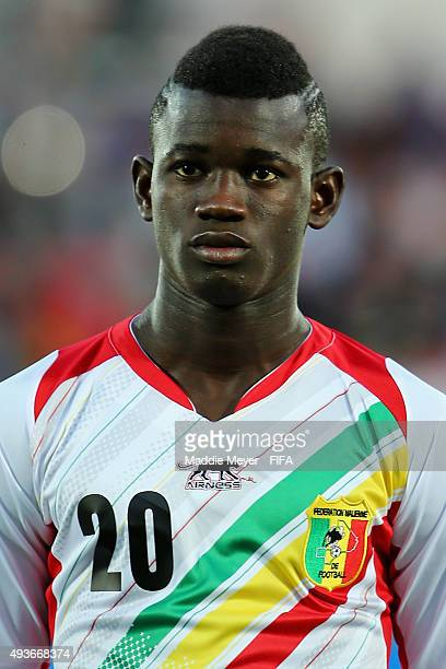 Sekou Koita of Mali looks on before the FIFA U-17 World Cup Chile group D match between Ecuador and Mali at Estadio Fiscal on October 21, 2015 in...