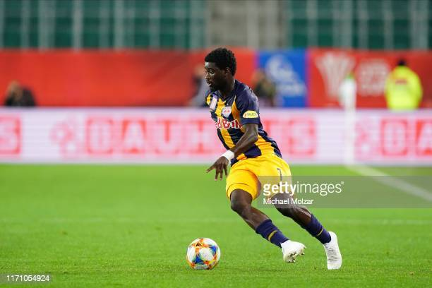 Sekou Koita of Salzburg during the OeFB cup match between SK Rapid Wien and FC Red Bull Salzburg at Allianz Stadion on September 25, 2019 in Vienna,...