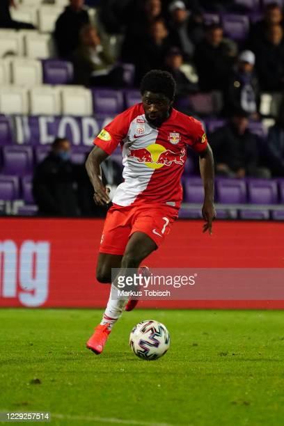 Sekou Koita of Salzburg during the tipico Bundesliga match between FK Austria Wien and FC Red Bull Salzburg at Genarali Arena on October 24, 2020 in...