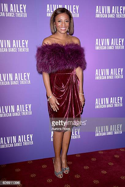 Sela Collins attends Alvin Ailey American Dance Theater Opening Night Gala Benefit 'An Evening of Ailey and Jazz' at New York City Center on November...