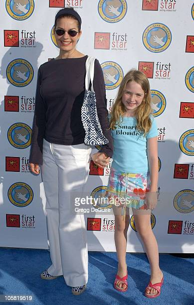 Sela Ward and daughter Anabelle during First Star's Celebration For Children's Rights Benefit at Santa Monica Barker Hanger in Santa Monica...