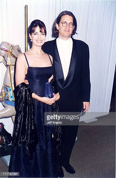Sela Ward and Howard Sherman during 1996 Carousel of Hope in Los Angeles California United States