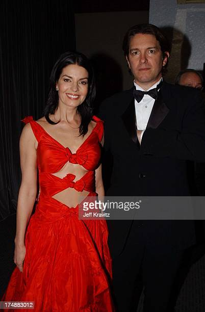 Sela Ward and Howard Sherman during 2002 Miramax Post Golden Globe Party in Beverly Hills California United States