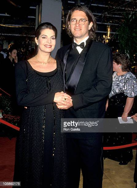 Sela Ward and Howard Sherman during 66th Annual Academy Awards at Dorothy Chandler Pavillion in Los Angeles CA United States