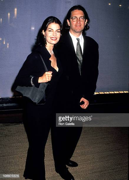 Sela Ward and Howard Sherman during A Tribute To Style To Benefit Inner City Arts Education at Rodeo Drive in Los Angeles California United States