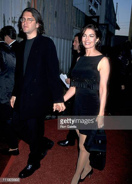 Sela Ward and Howard Sherman during APLA Fashion Event Honors Todd Oldham at Bergamont Station in Santa Monica California United States