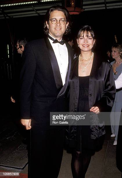 Sela Ward and Howard Sherman during APLA's 8th Annual Fundraiser Honoring Isaac Mizrahi at Mann's Chinese Theater in Hollywood California United...