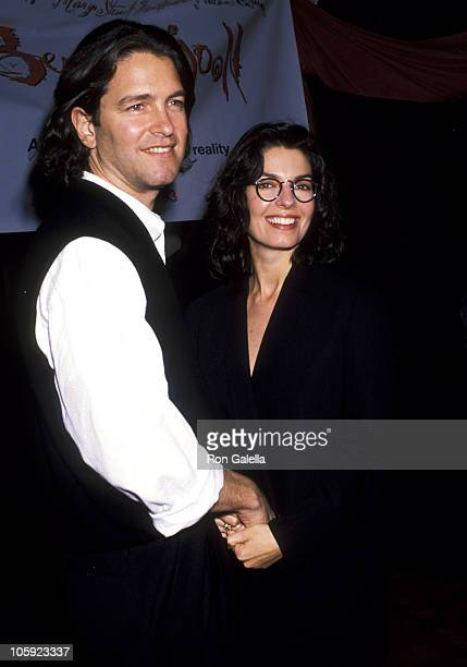 Sela Ward and Howard Sherman during Benny Joon Los Angeles Premiere in Los Angeles California United States