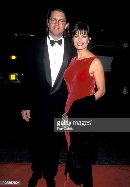 Sela Ward and Howard Sherman during The 17th Annual Cable ACE Awards at Wiltern Theater in Los Angeles California United States