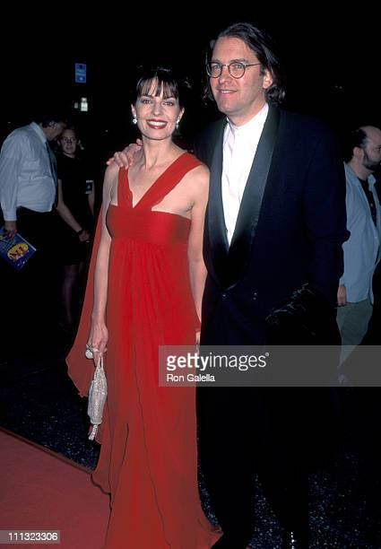 Sela Ward and Howard Sherman during The 18th Annual Cable ACE Awards at Wiltern Theatre in Los Angeles California United States