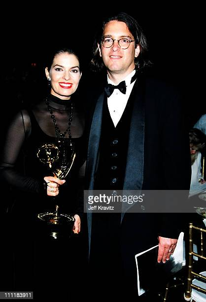Sela Ward and husband Howard Sherman during 1994 Emmy Awards in Los Angeles, CA.
