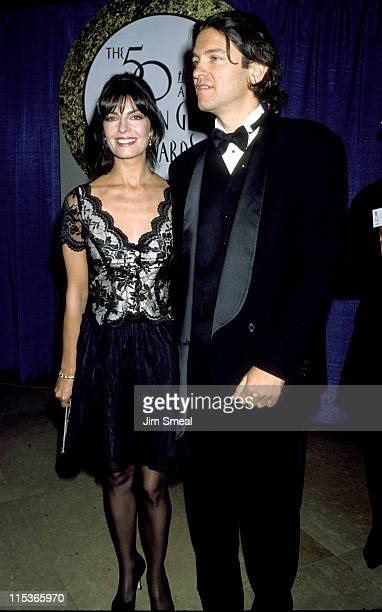 Sela Ward and husband Howard Sherman during The 50th Annual Golden Globe Awards at Beverly Hilton Hotel in Beverly Hills California United States