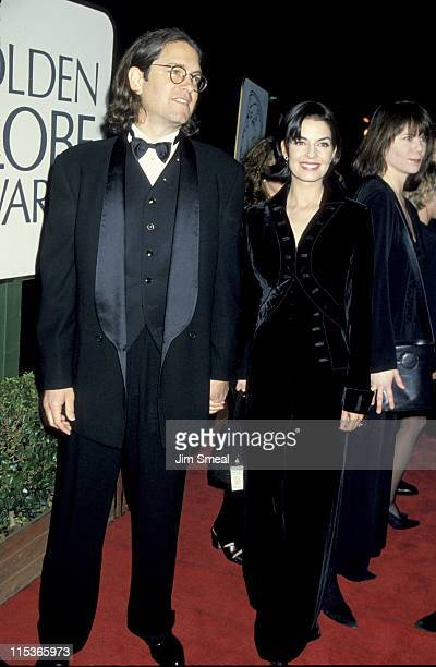 Sela Ward and husband Howard Sherman during The 52nd Annual Golden Globe Awards at Beverly Hilton Hotel in Beverly Hills California United States