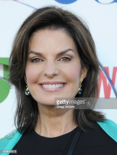 Sela Ward arrives at the CBS The CW Showtime Summer Press Tour Party held at The Tent on July 28 2010 in Beverly Hills California