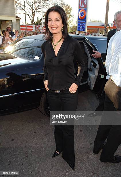 Sela Ward during 2006 CMT Music Awards Red Carpet at Curb Events Center at Belmont University in Nashville Tennessee United States