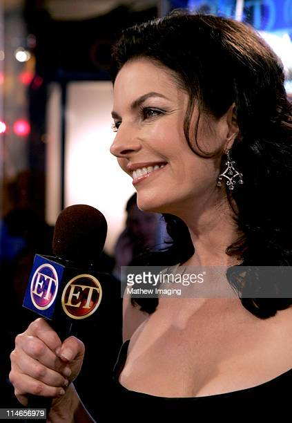 Sela Ward during 57th Annual Primetime Emmy Awards Entertainment Tonight Backstage at The Shrine in Los Angeles California United States