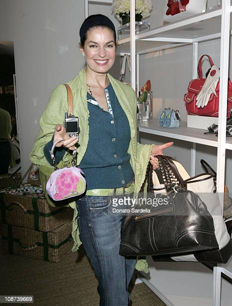 Sela Ward during Coach Flagship Store Opening on Rodeo Drive at Coach Store in Beverlry Hills California United States