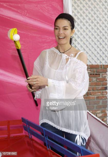 Sela Ward during Target 'A Time For Heroes' To Benefit The Elizabeth Glaser Pediatric AIDS Foundation at Mandeville Canyon Park in Los Angeles...