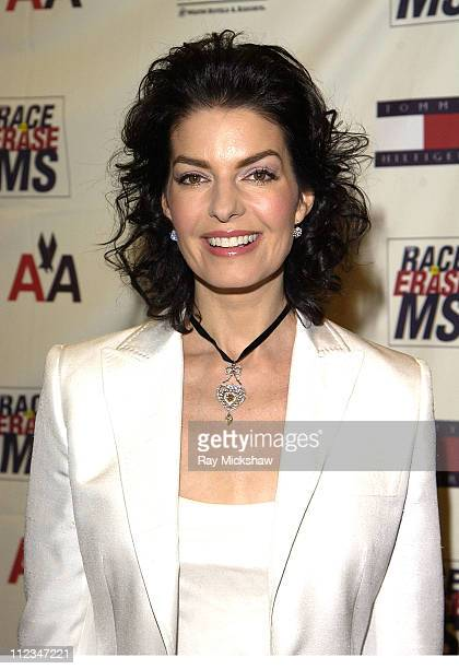 Sela Ward during The 9th Annual Race to Erase MS CoChaired by Nancy Davis Tommy Hilfiger Fashion Show at The Century Plaza Hotel in Century City...
