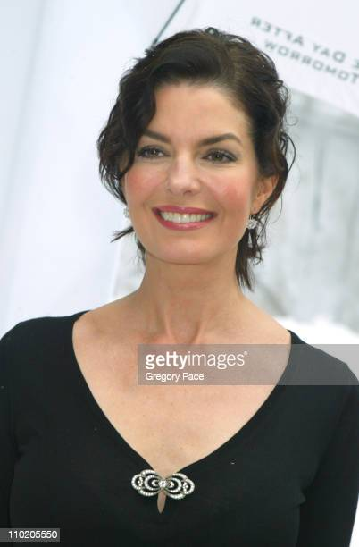 Sela Ward during The Day After Tomorrow New York Premiere Arrivals at American Museum of Natural History in New York City New York United States