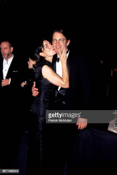 Sela Ward, Howard Sherman CFDA Awards Lincoln Center, NYC February 12, 1996.