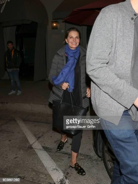 Sela Ward is seen on February 23 2018 in Los Angeles California