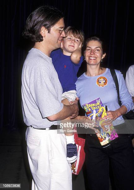Sela Ward with husband Howard Sherman and son Austin Sherman