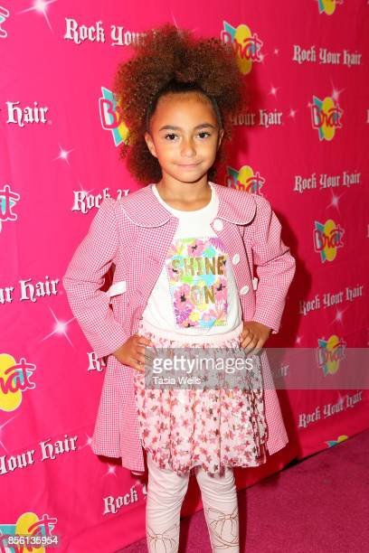 Selah Philips at Rock Your Hair Presents Rock Back to School Concert Party on September 30 2017 in Los Angeles California