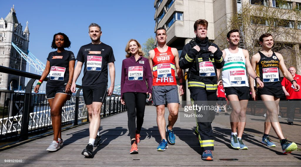 Runners Prepare for 2018 London Marathon