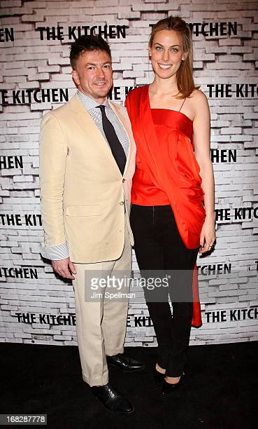 Selby Drummond and Matthew Doull attend The Kitchen Spring Gala Benefit 2013 at Capitale on May 7 2013 in New York City
