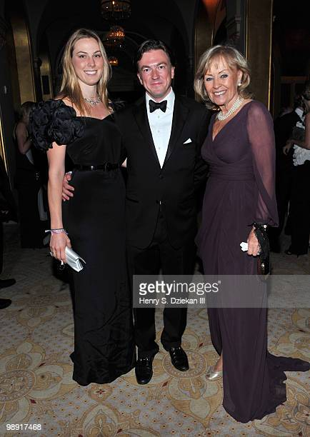 Selby Drummond Matthew Doull and Imssy Klebe attend the 69th Bal des Berceaux annual benefit at The Plaza Hotel on May 7 2010 in New York City
