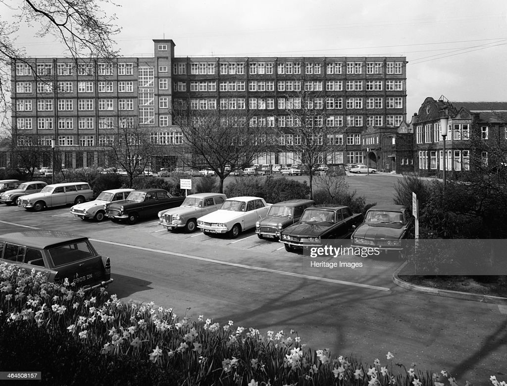 A selection of 1960s cars in a car park, York, North Yorkshire, May 1969. Artist: Michael Walters : News Photo