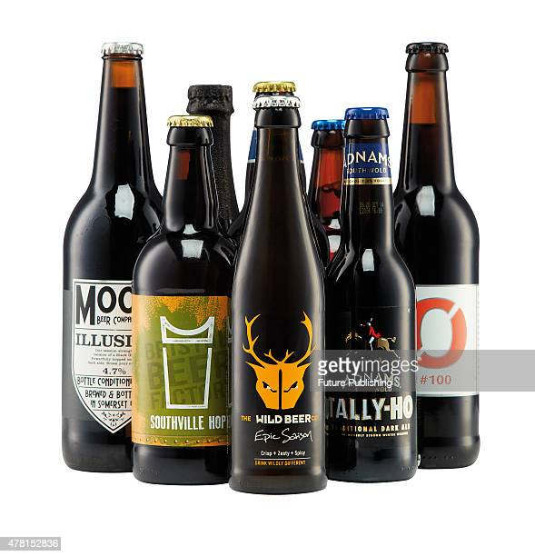 A selection of awardwinning craft beers taken on September 4 2013