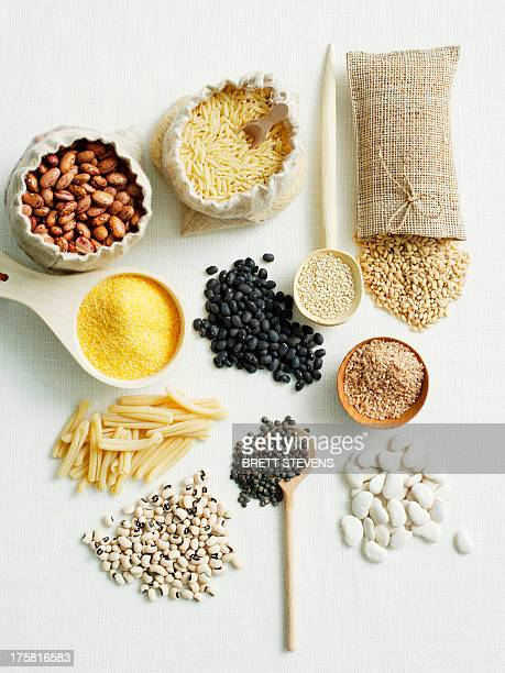 Selection of beans and pulses