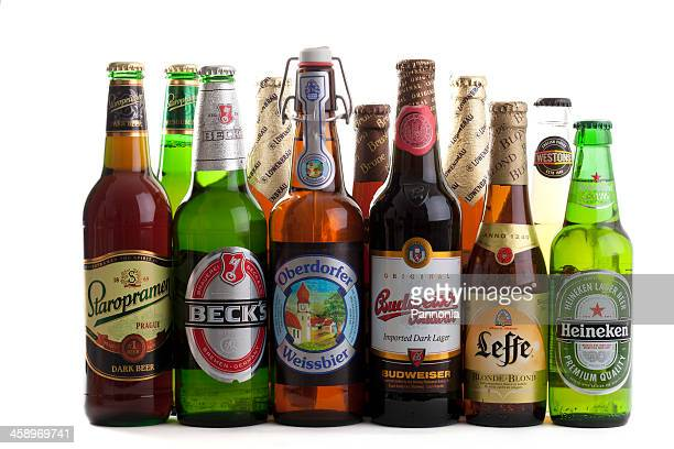 Selection of European Beers