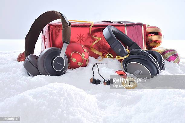 A selection of headphones for Apple iOS devices including Philips Citiscape Downtown House Of Marley Freedom Redemption Song and FSL Zero...
